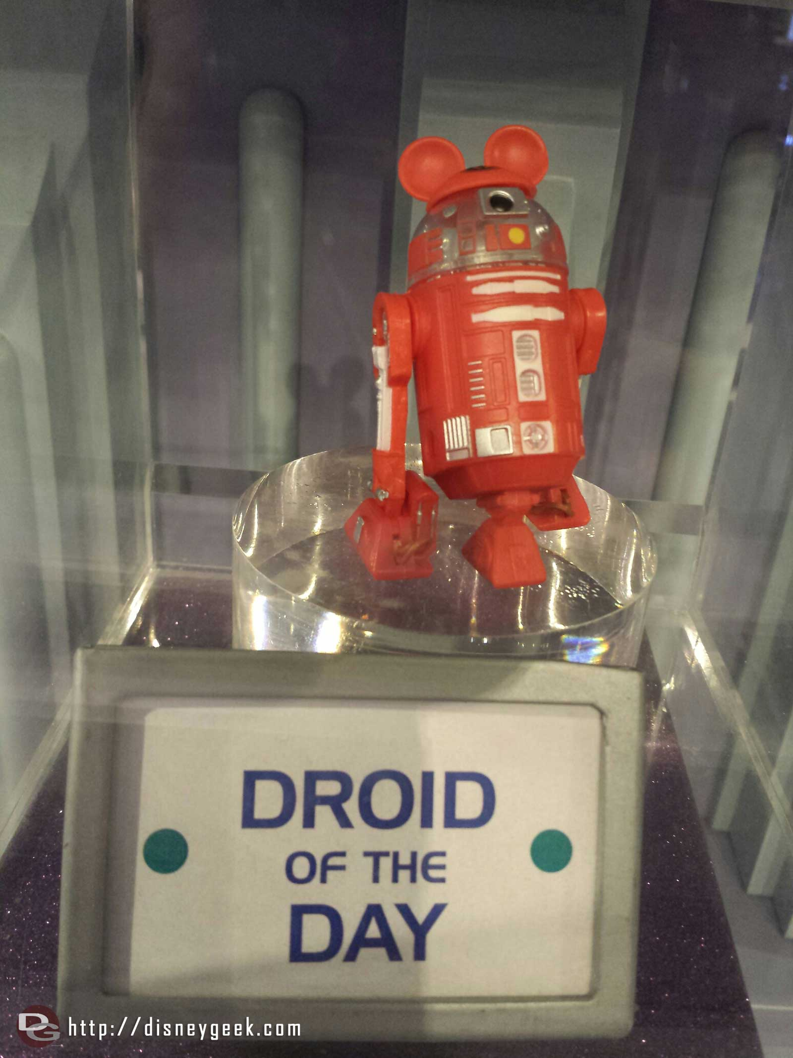 The Droid of the say in the Star Trader