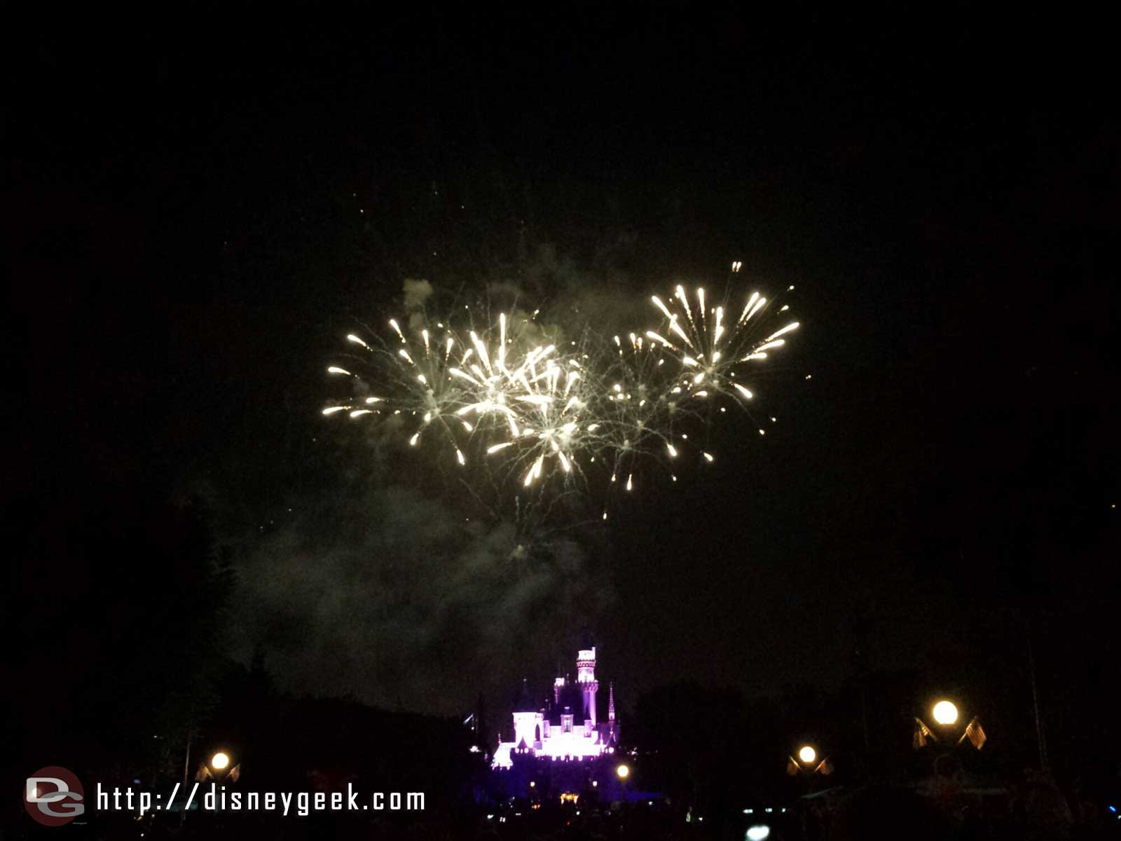 No signs of Tinkerbell during Magical this evening