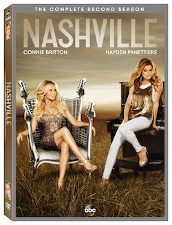 Nashville the Complete Second Season on DVD today