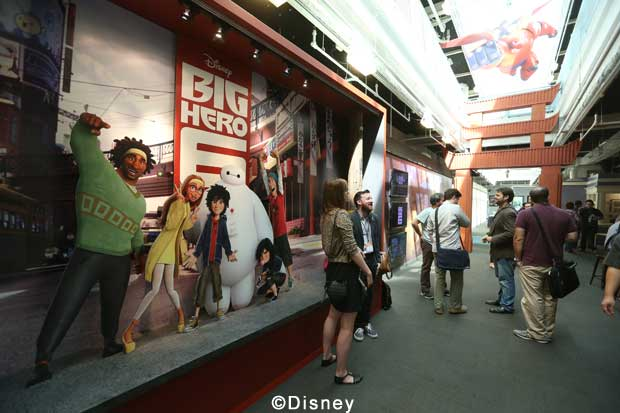 Roy E Disney - Walt Disney Animation Studios - Big Hero 6 Day Tour