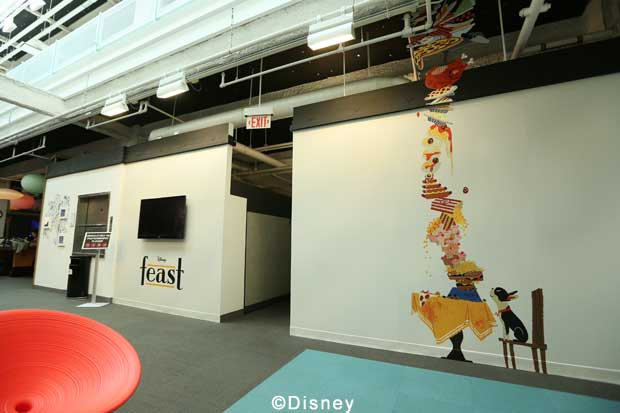 Roy E Disney - Walt Disney Animation Studios - Big Hero 6 Day Tour - Feast