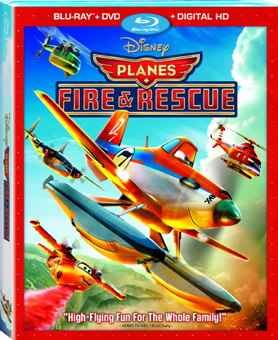 Planes Fires And Rescue Bluray