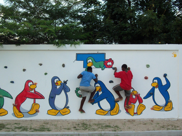 Club Penguin Back to School