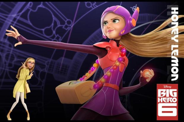 Disney Big Hero 6 - honeyleomon