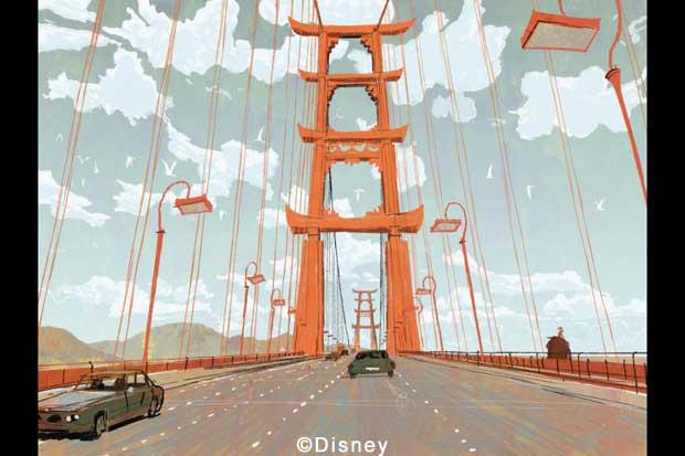 Disney Big Hero 6 - San Fransoko