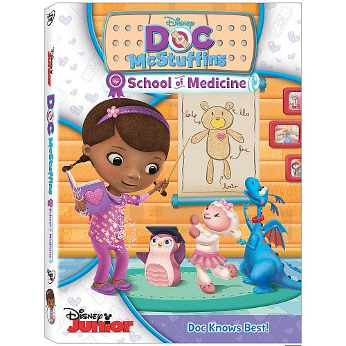 Doc Mcstuffins: School of Medicine on DVD