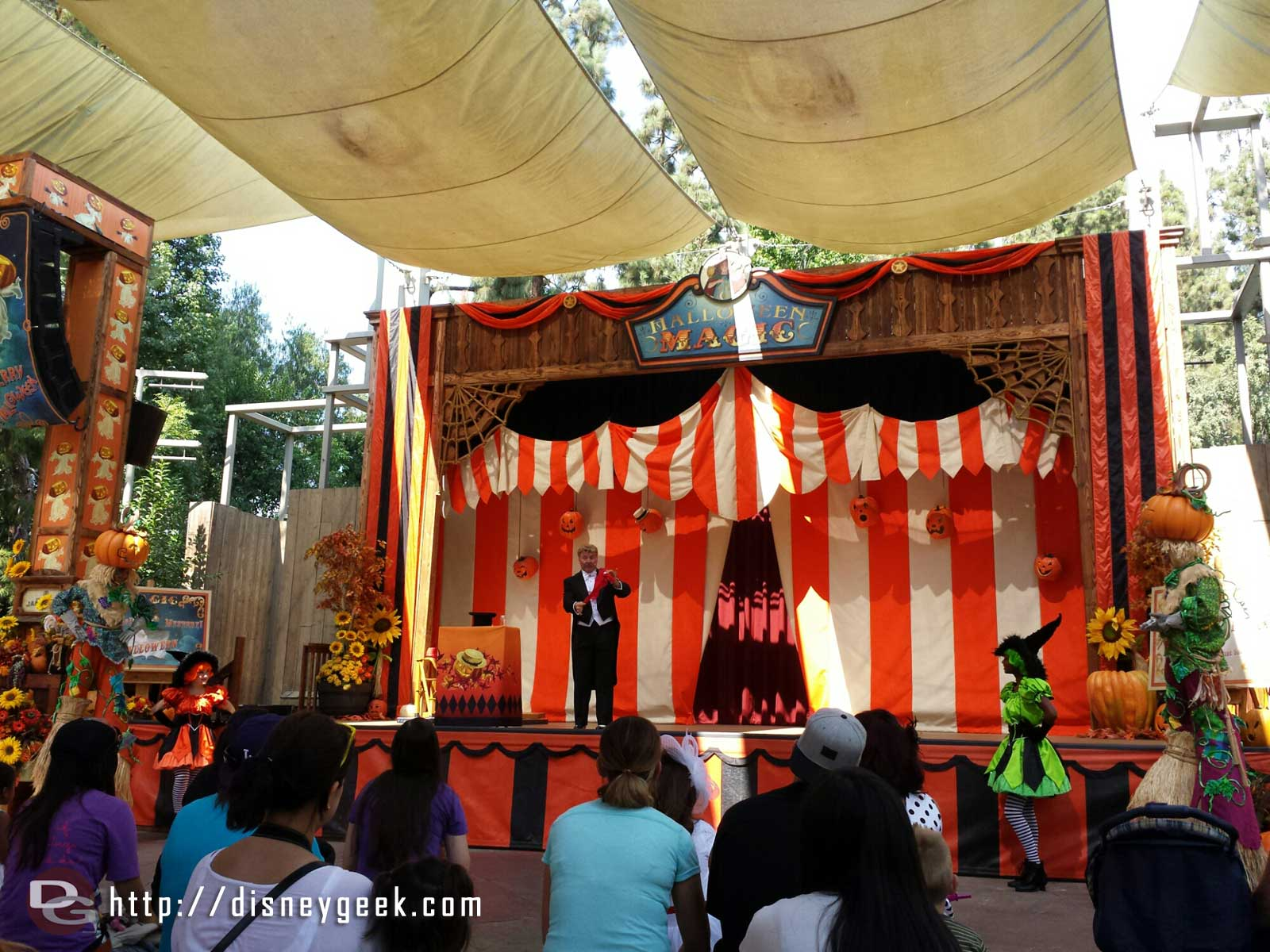 A Magician this year instead of the Haunted Hillbillies at the Halloween Carnival