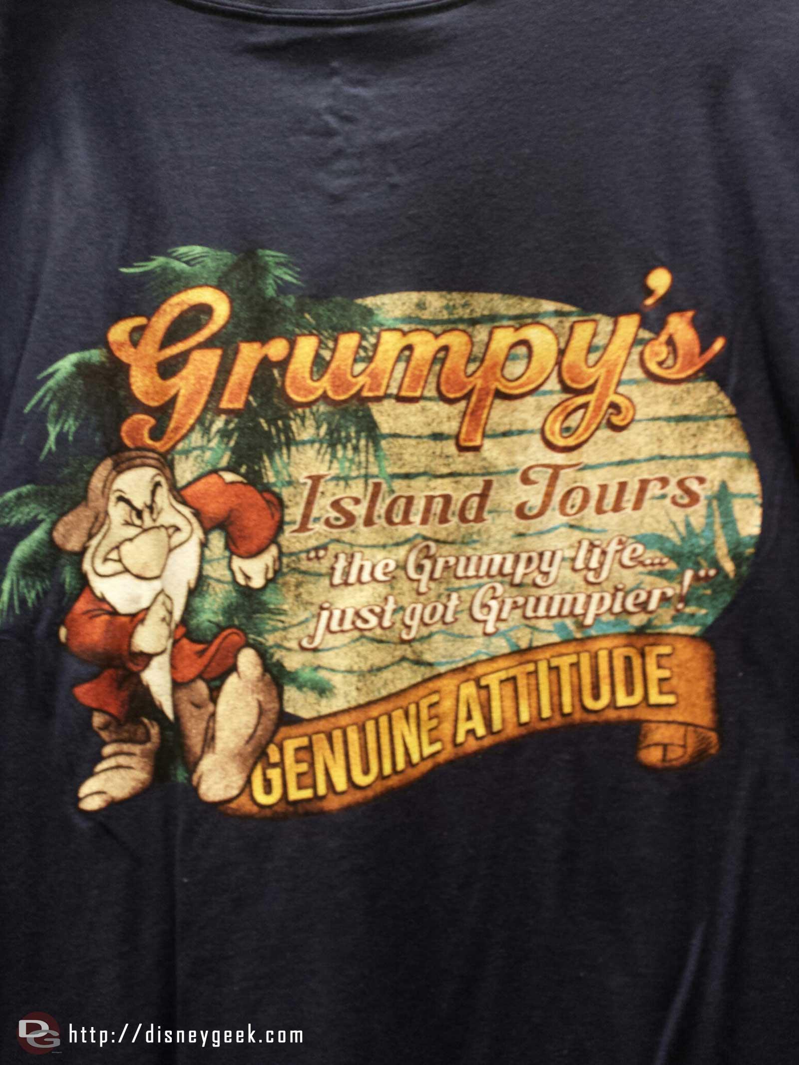 Grumpy's Island Tours T-shirt