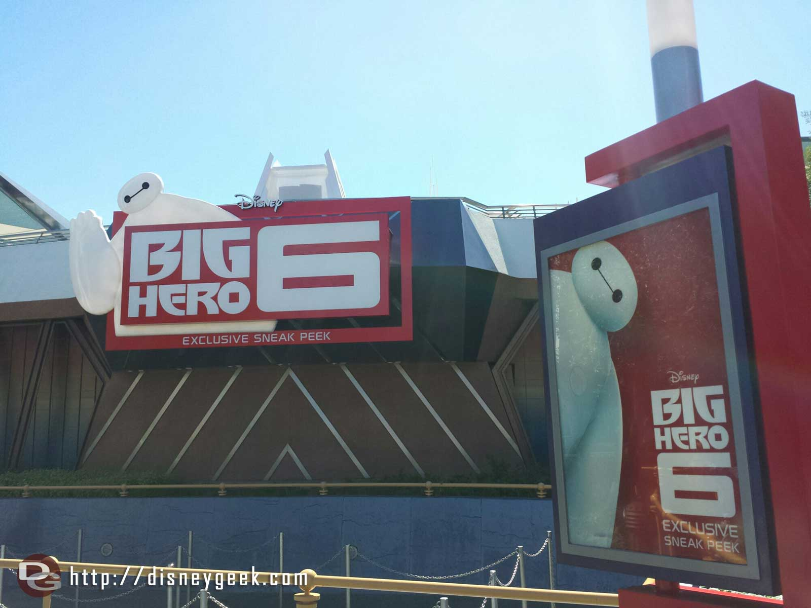 A #BigHero6 preview has moved into the Magic Eye Theatre for the next couple of months