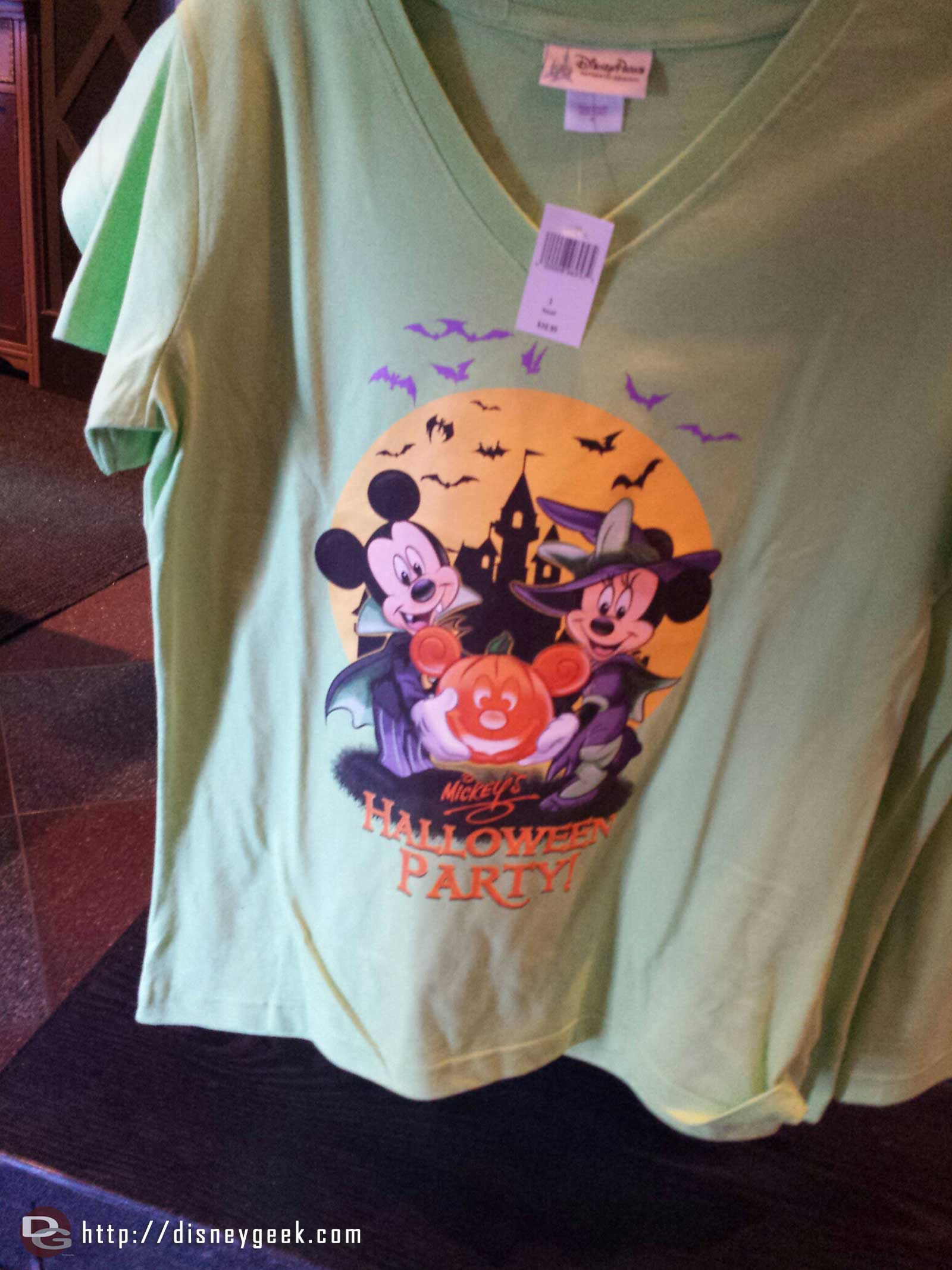 Mickey's Halloween Party shirt
