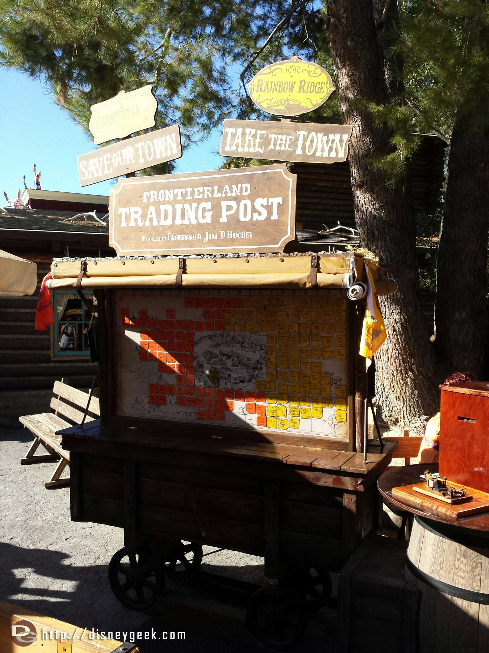 Tomorrow is the last day for Legends of Frontierland #Disneyland