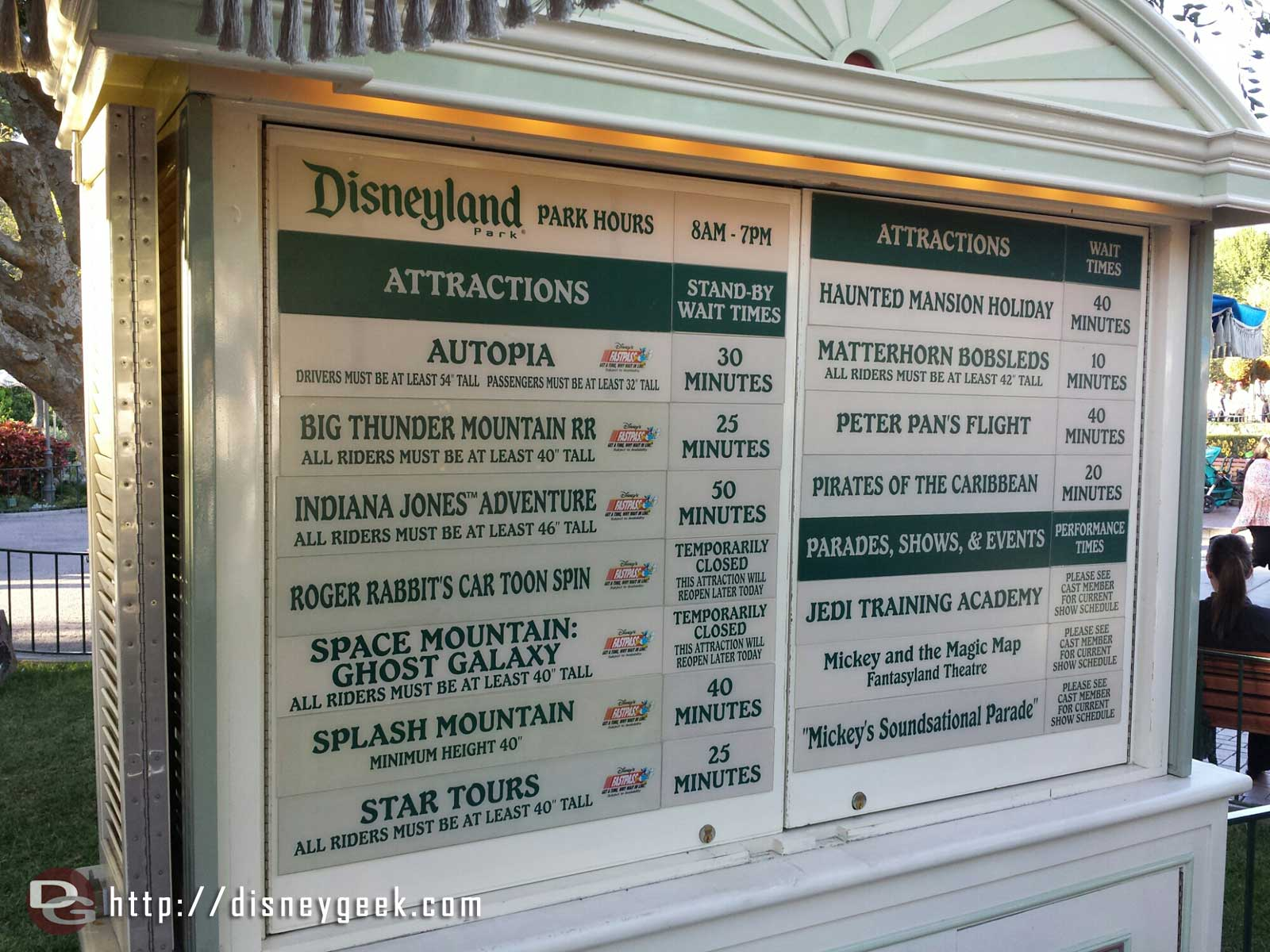 #Disneyland waits as of 5:26pm