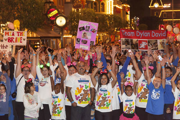 "2014 CHOC ""Walk in the Park"" @ #Disneyland October 12, 2014 (Press Release) #chocwalk"