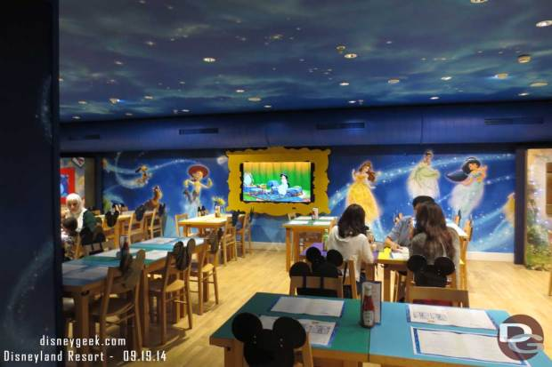 Disney Cafe by Harrods