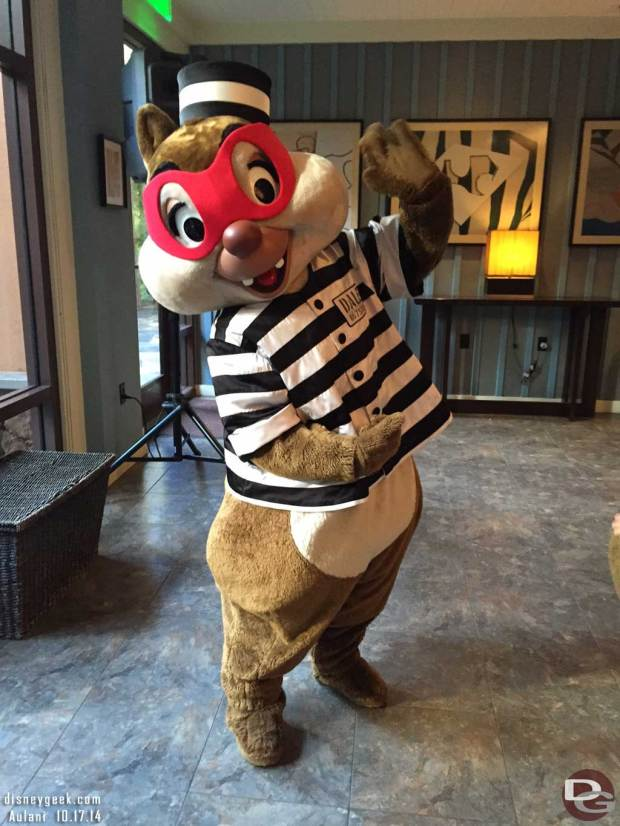 Aulani - Dale as a Bandit for Halloween