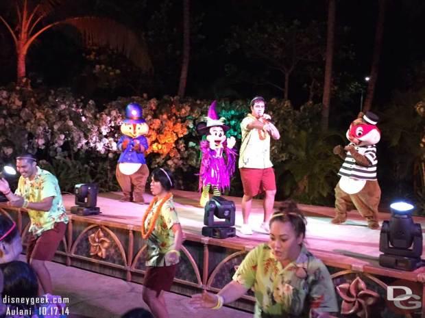 Aulani Halloween Ho'Olaule'A with Disney Friends