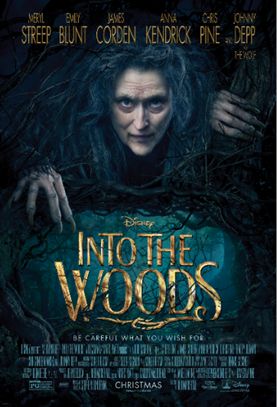 Disney's Into The Woods Featurette & Info (Disney Release)