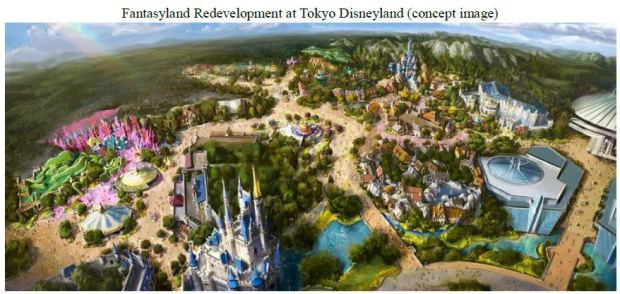 Tokyo Disneyland Resort Expansion Concept Art