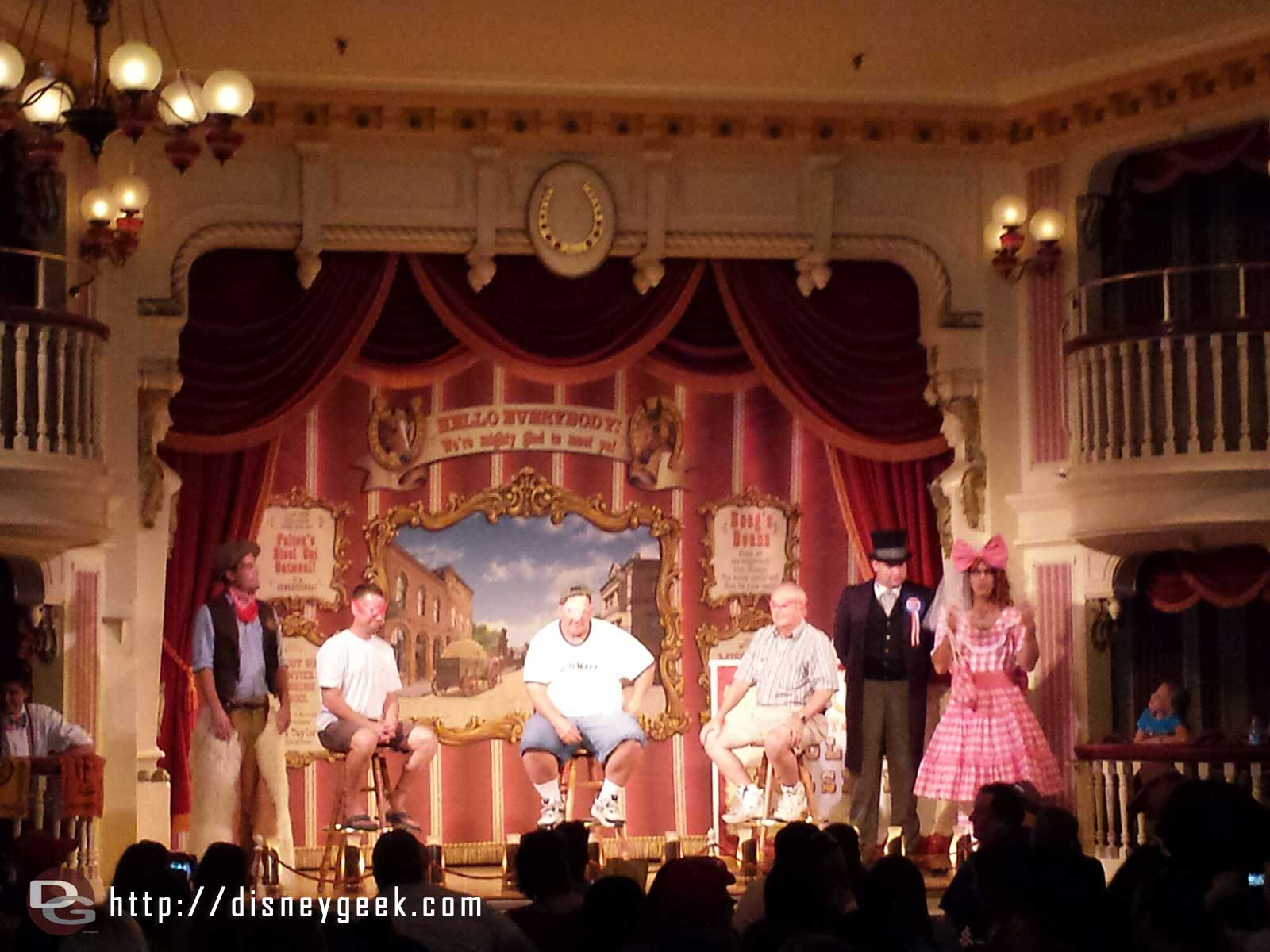 The Laughingstock Co has moved back into the Golden Horseshoe #Disneyland