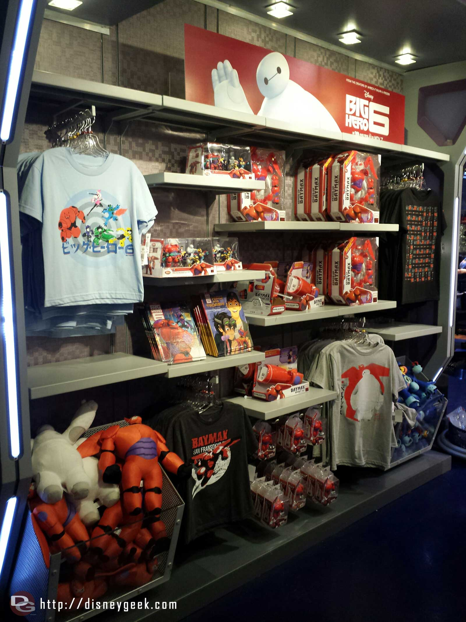#BigHero6 merchandise on the Star Traders