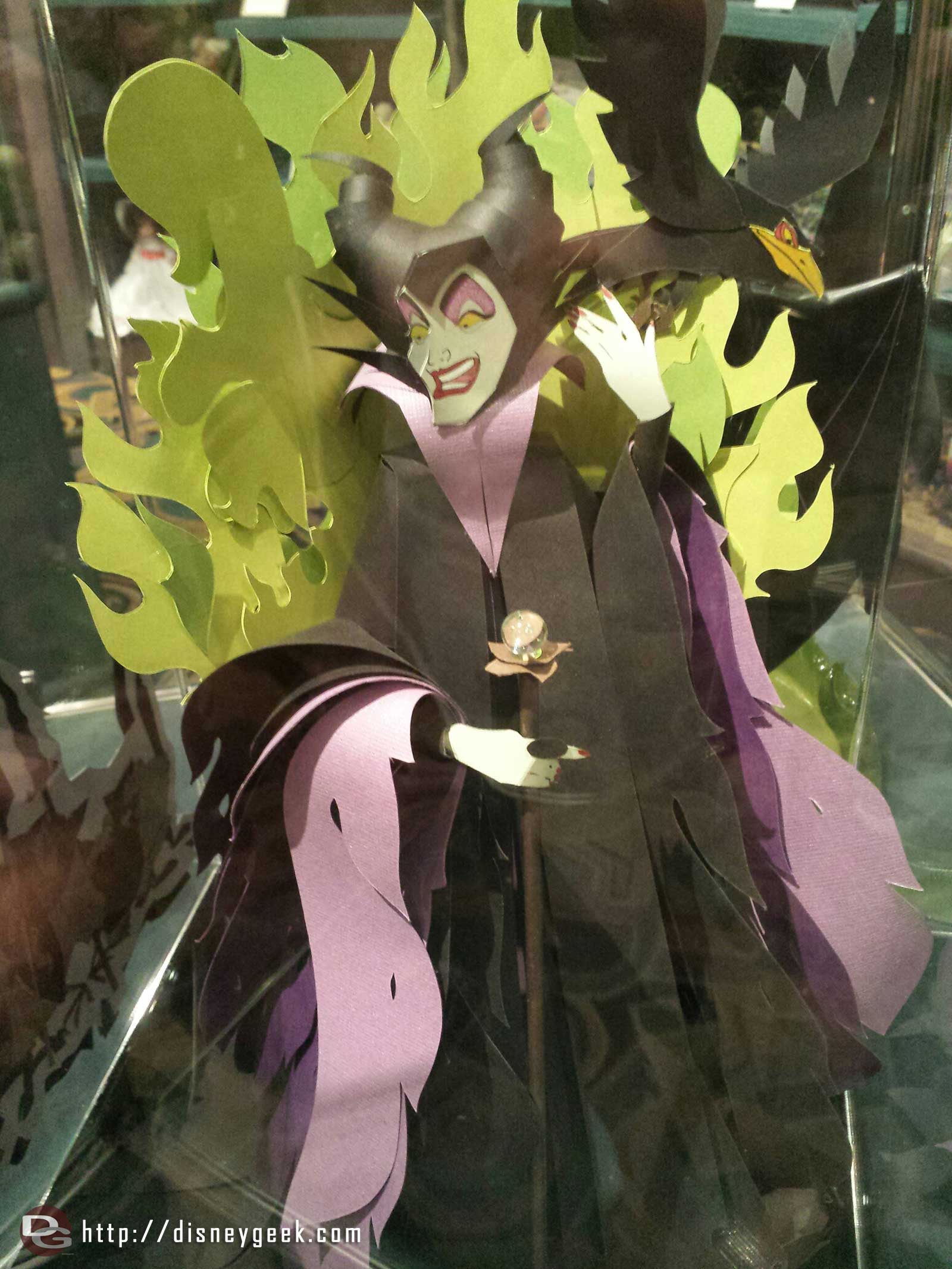 Off the Page has an original Maleficent sculpture by Britni Brault for $2,000