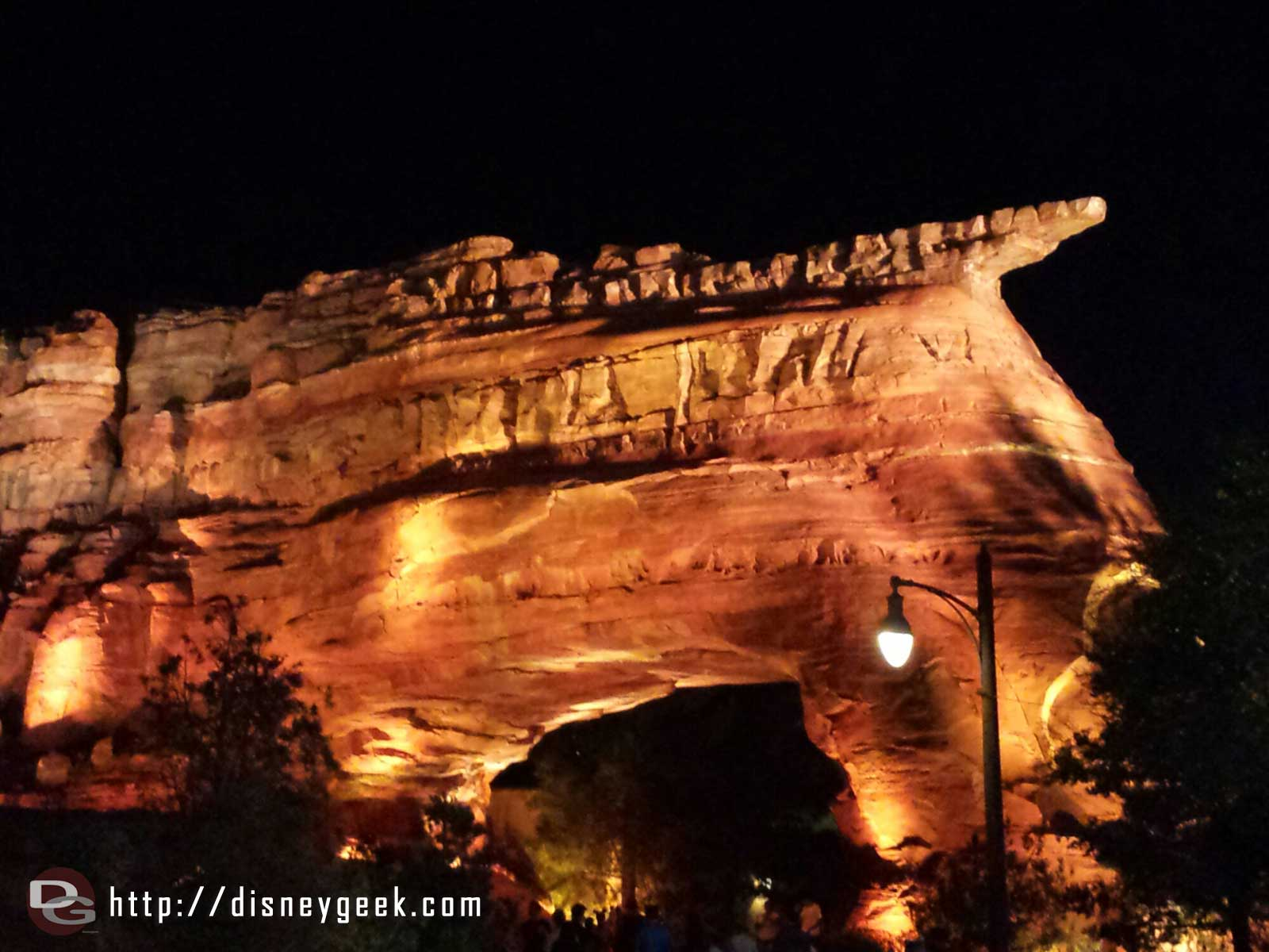 Random ornament valley picture as I am passing through #CarsLand