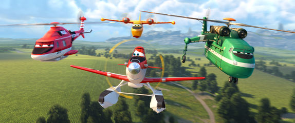 """PLANES: FIRE & RESCUE"" ©2014 Disney Enterprises, Inc. All Rights Reserved."