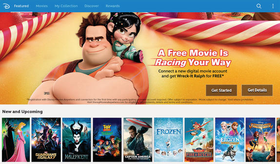 Disney and Google Play Team Up to Bring Disney Movies Anywhere to Android Devices (Disney Release)