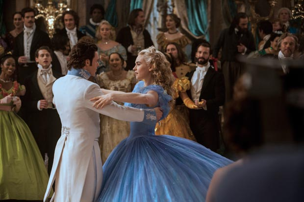 Cinderella Production Still