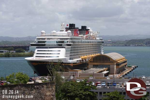 Disney Fantasy in San Juan, Puerto Rico