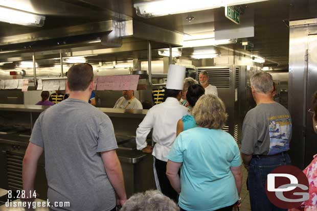 Disney Fantasy - Galley Tour