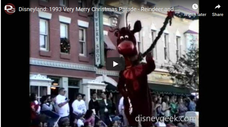 1993 Disneyland Very Merry Christmas Parade