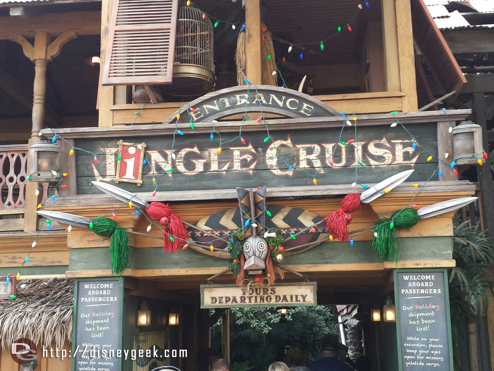 Jingle Cruise time #Disneyland