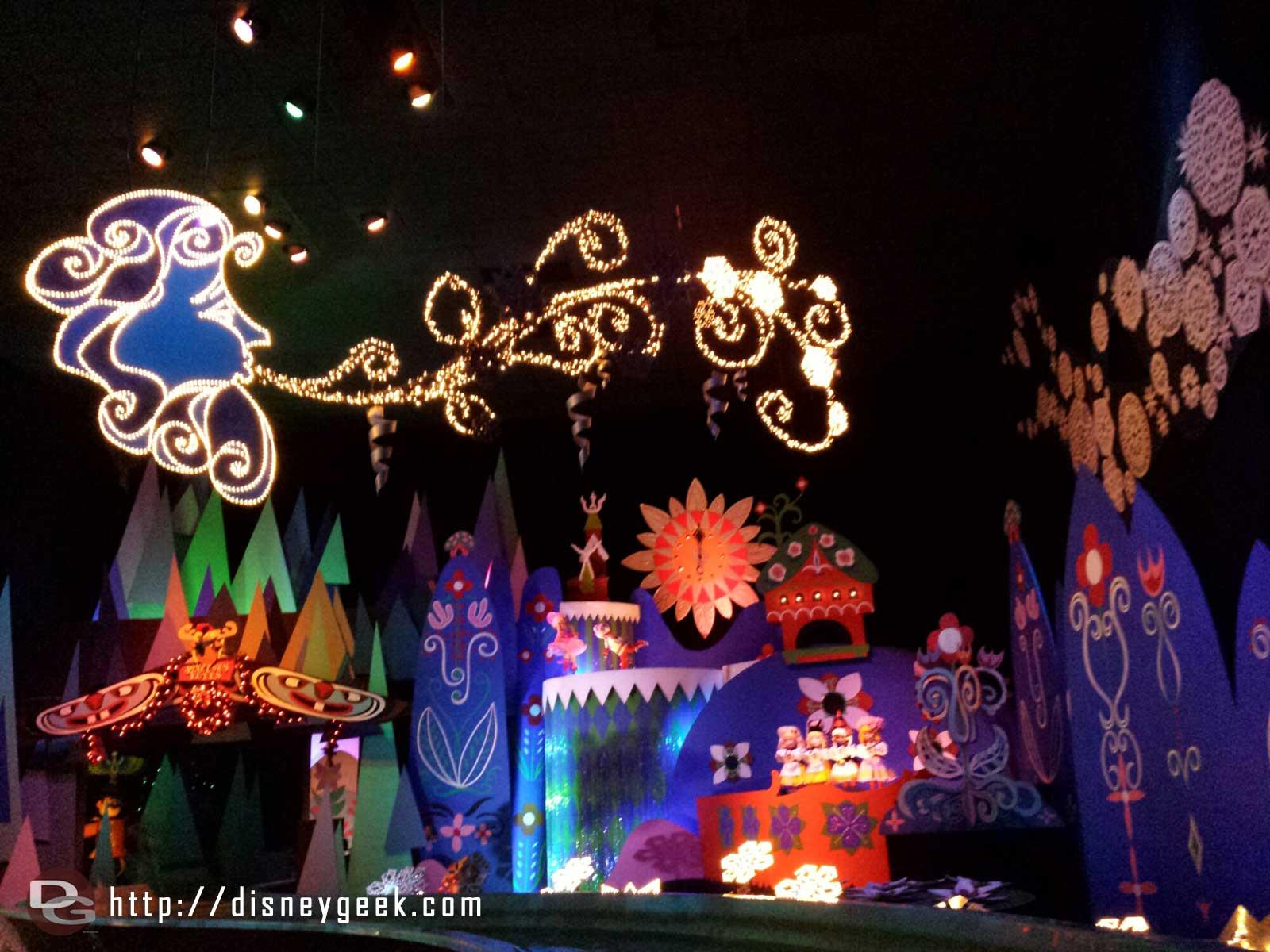 Small World Holiday #Disneyland