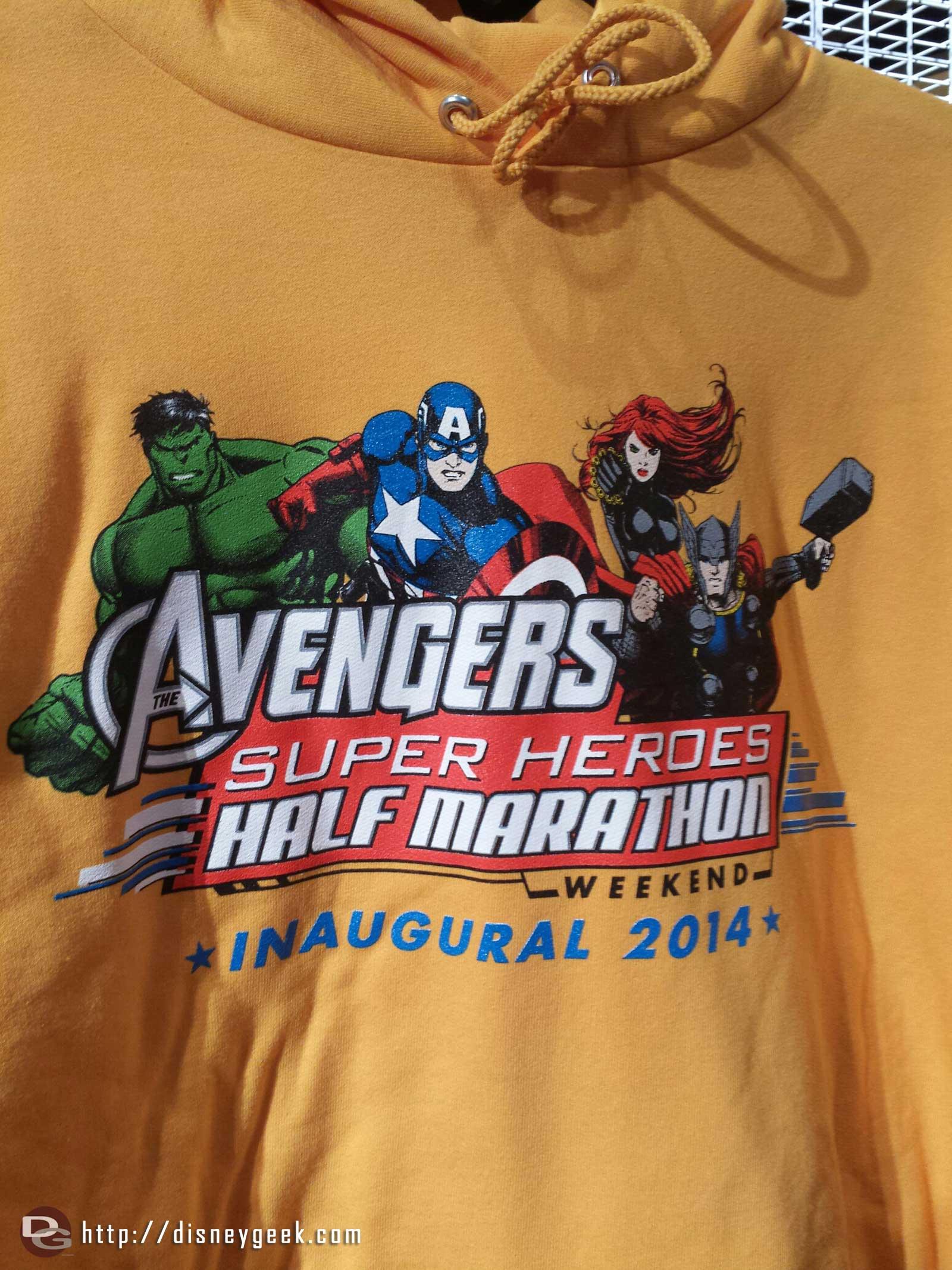 Avengers half marathon sweatshirt #RunDisney
