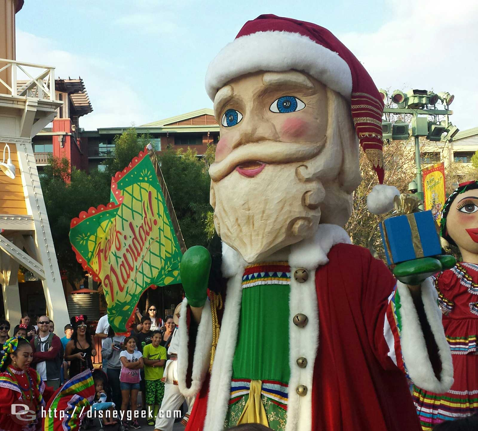 ¡Viva Navidad! has returned to Paradise Gardens