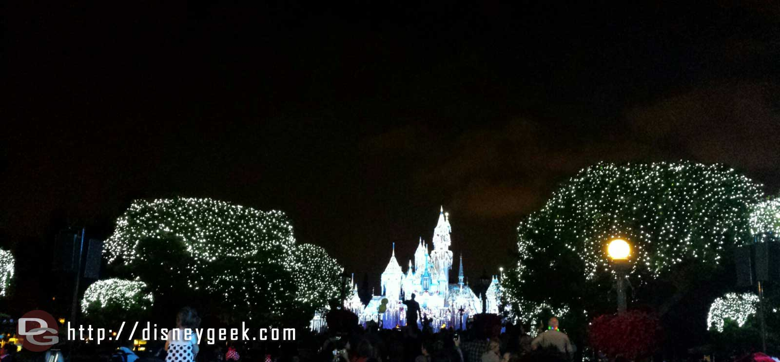 #Disneyland Sleeping Beauty Castle Wintertime Enchantment moment