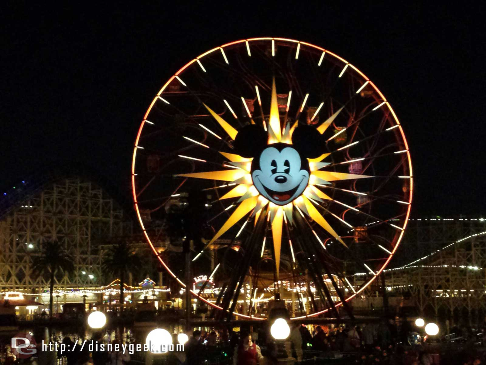 Waiting for World of Color Winter Dreams, used the FP I picked up 12hr ago