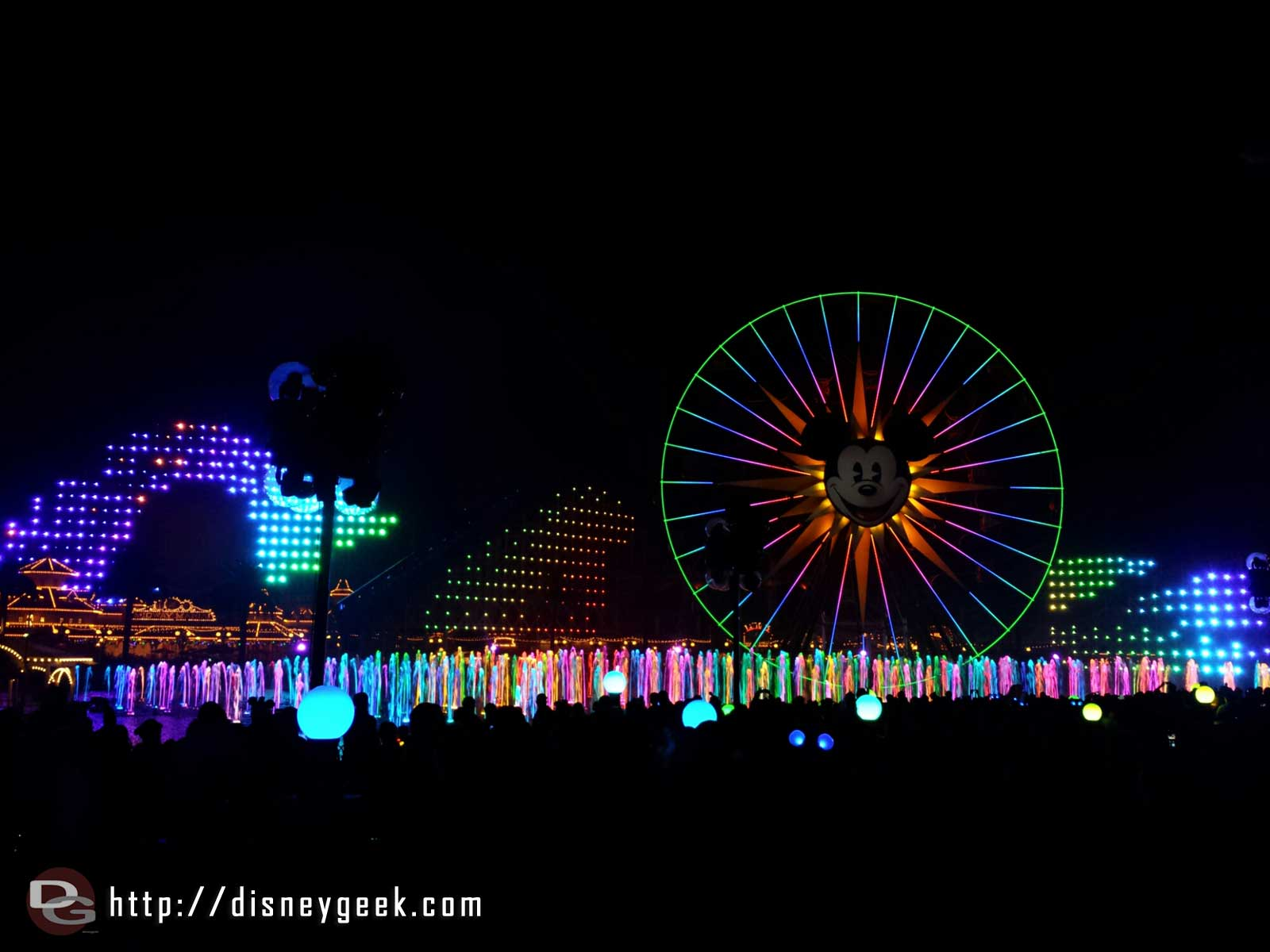 World of Color Winter Dreams- Finale