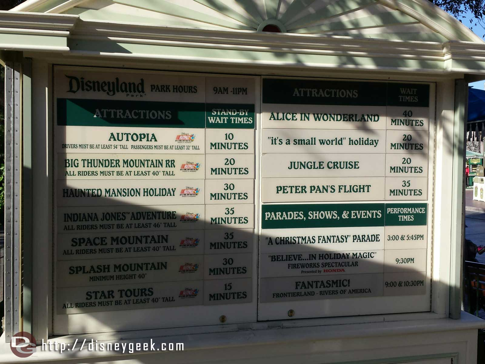 #Disneyland waits as of 2:00pm