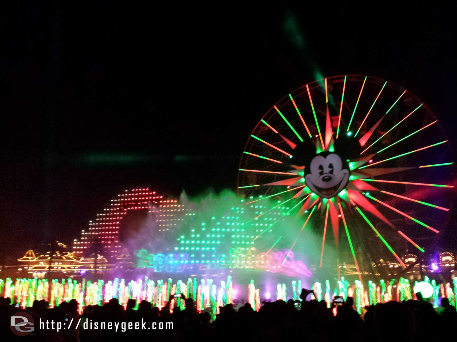 World of Color – Winter Dreams – Happy Holidays