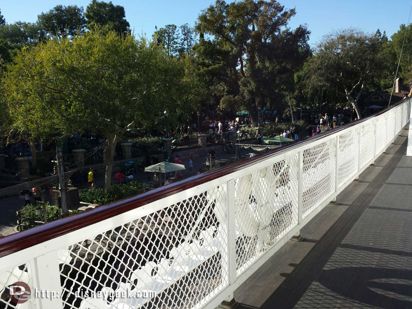 Onboard the Mark Twain looks like new again #Disneyland