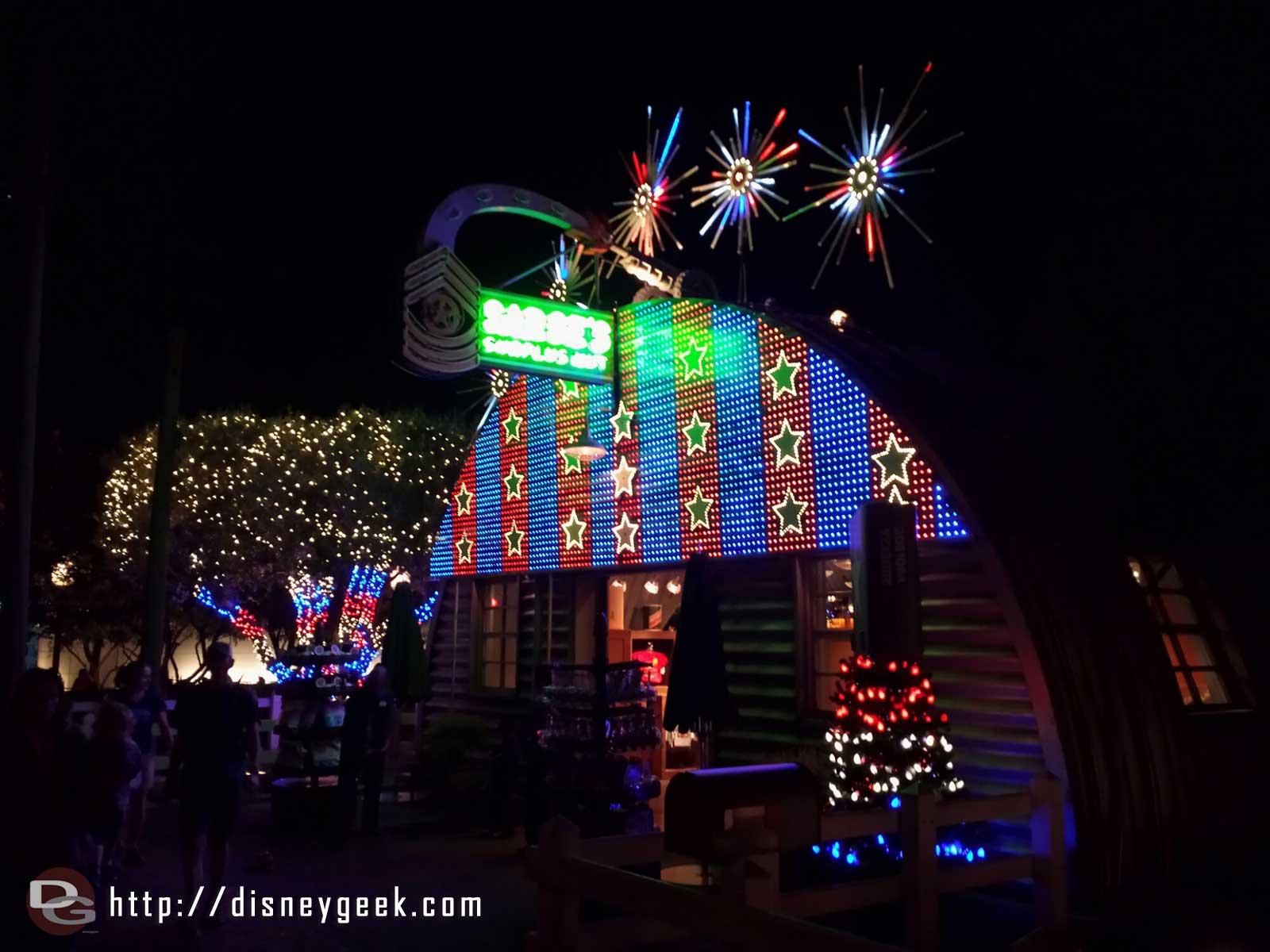 Sarge's #CarsLand #Christmas