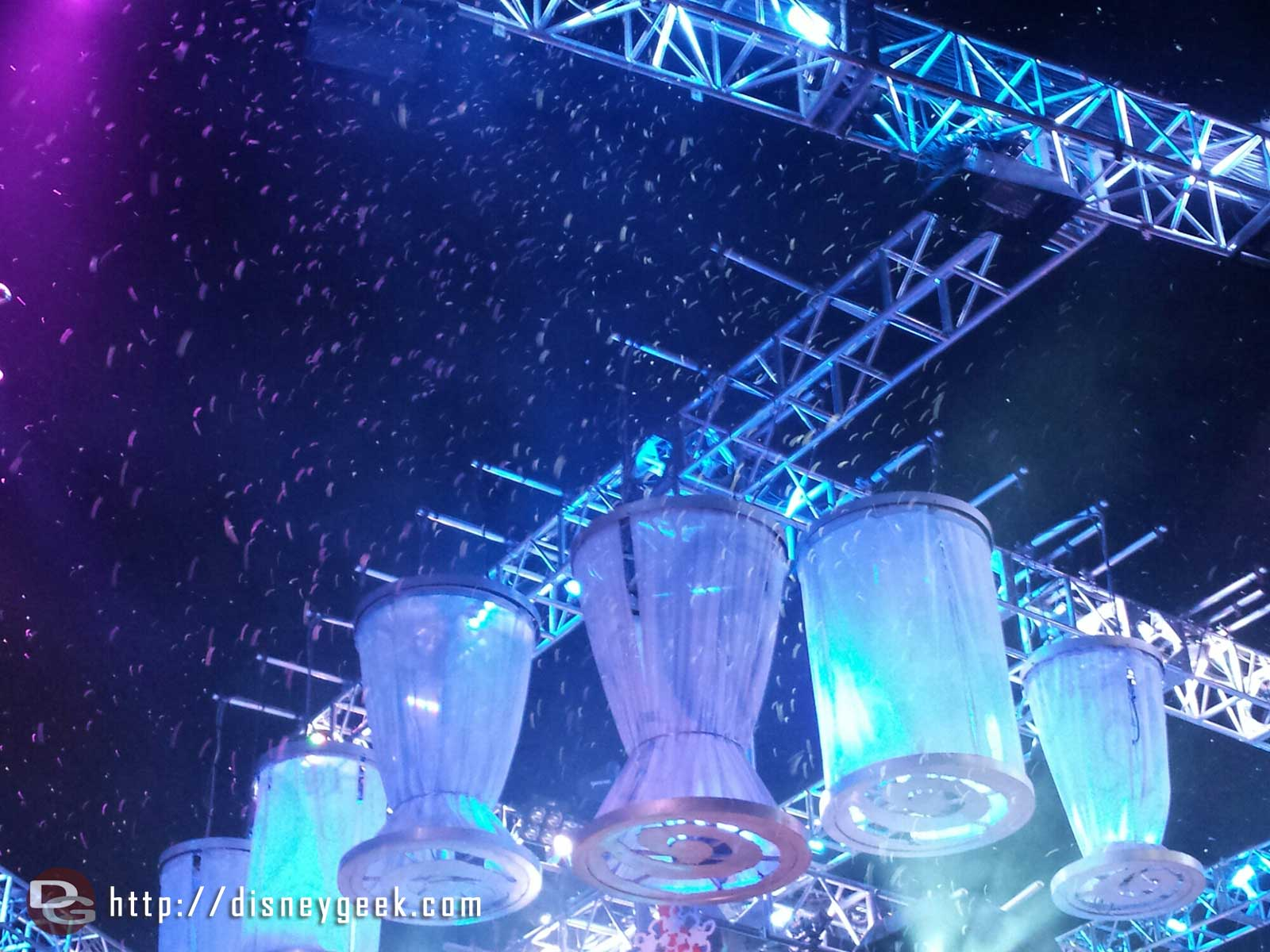 #MadTParty snow, as close as I want to get to snow