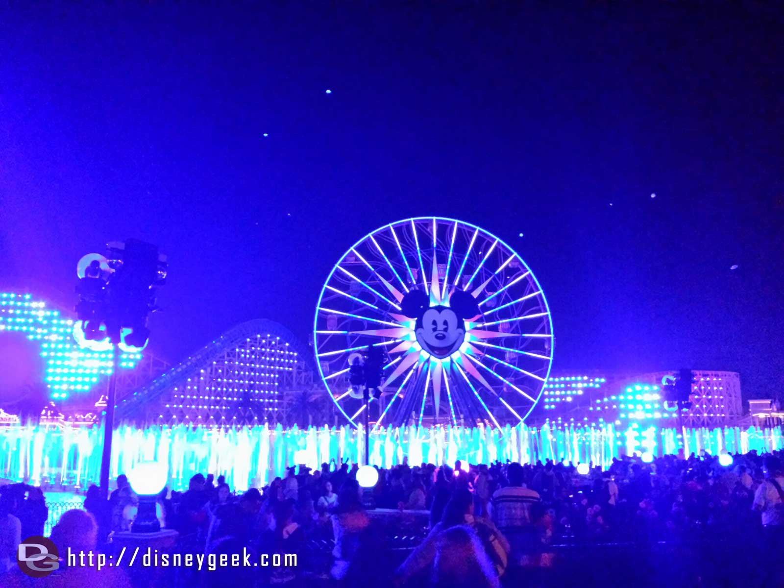 World of Color Winter Dreams – post show