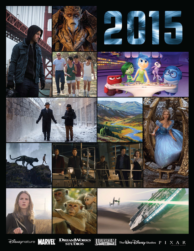 A look ahead, 2015 Walt Disney Studios Motion Pictures Releases