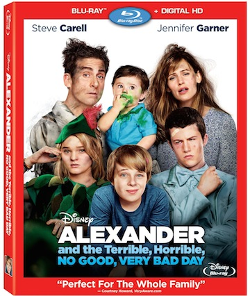 Disney's Alexander and the Terrible, Horrible, No Good, Very Bad Day – On DVD, Blu-ray & Disney Movies AnywhereVideo – February 10, 2015