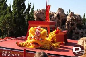 Epcot Holidays Around the World - Chinese Lion Daners