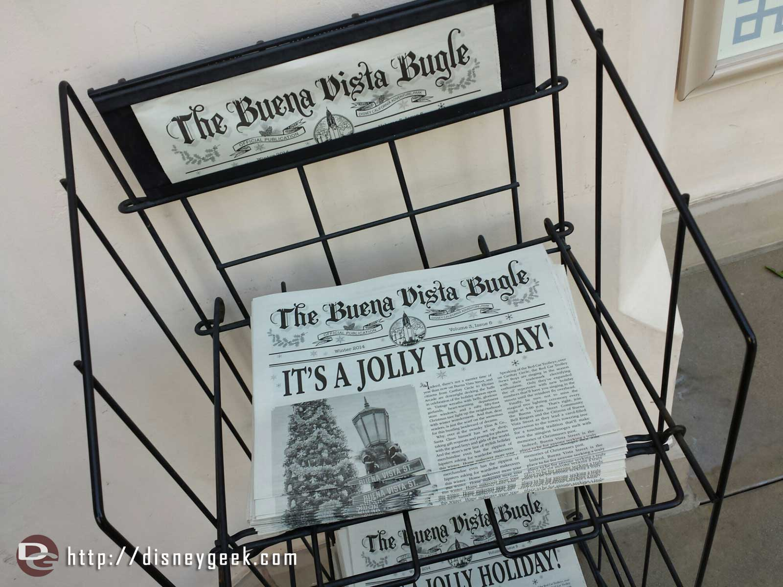 The holiday edition of the Buena Vista Bugle is now on news stands