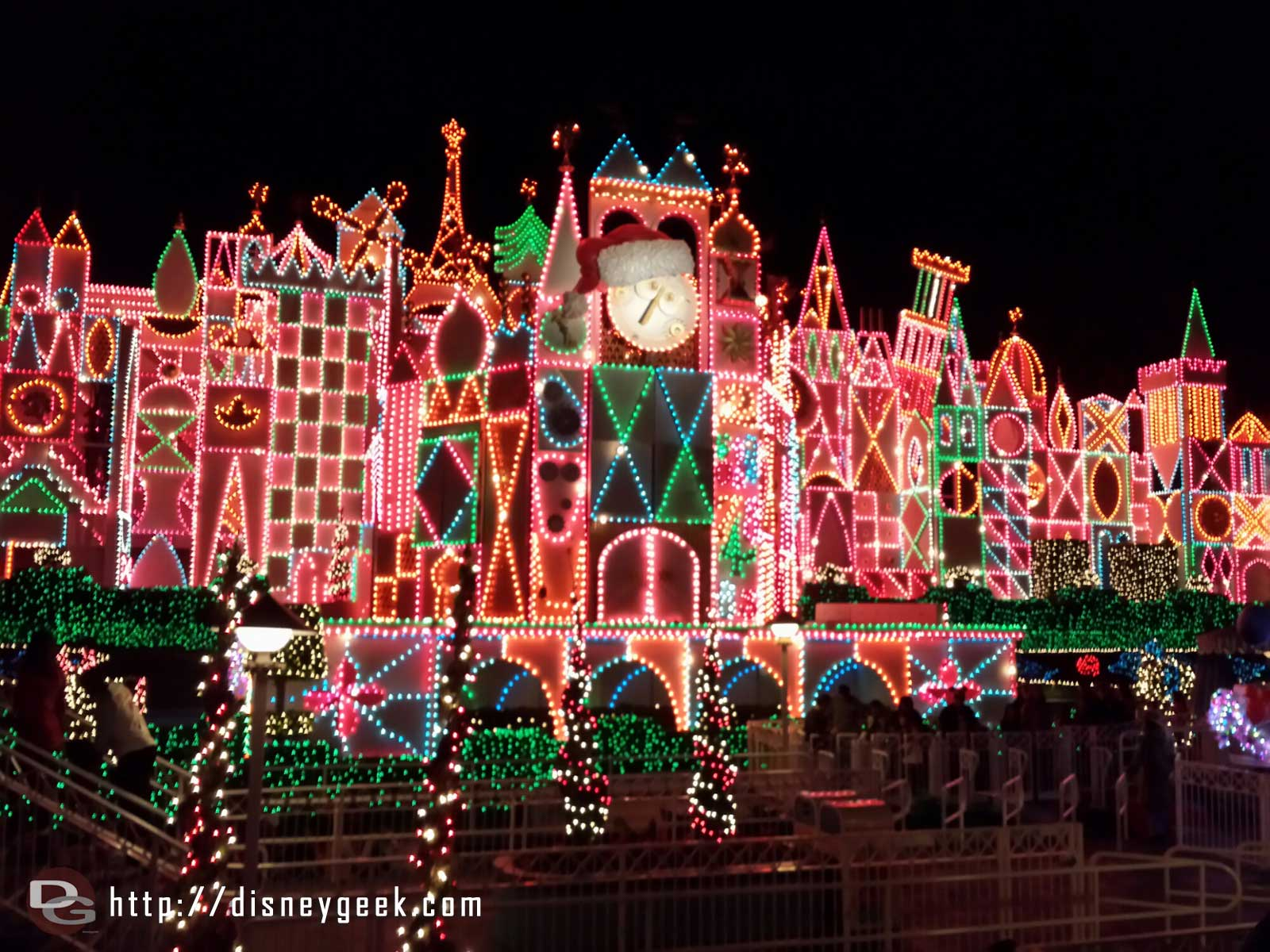 Small World Holiday lights #Disneyland